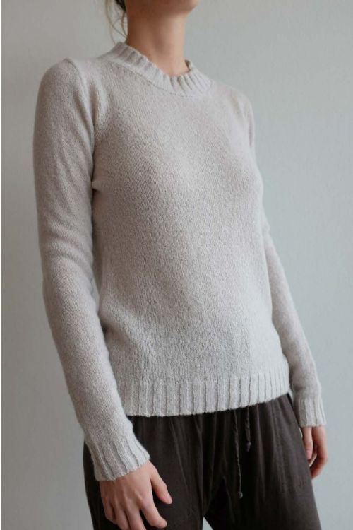 Cashmere and Silk Pullover Sand by Private0204-S