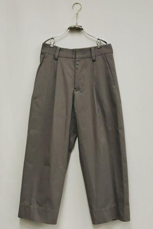 Cotton Twill Pants Paul by Ecole de Curiosites-S