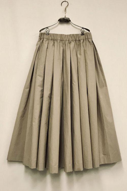 Long Skirt Solange Beige by Ecole de Curiosites