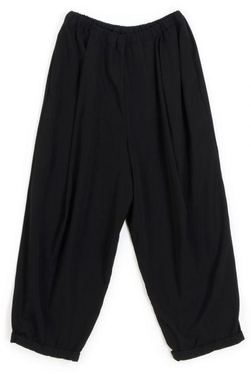 Cropped Trousers Nili Black-S