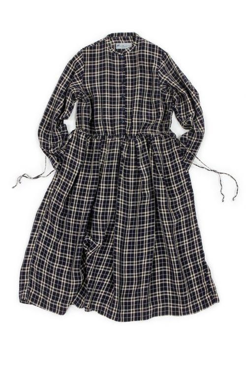 Dress Sotti Blue White Check-S