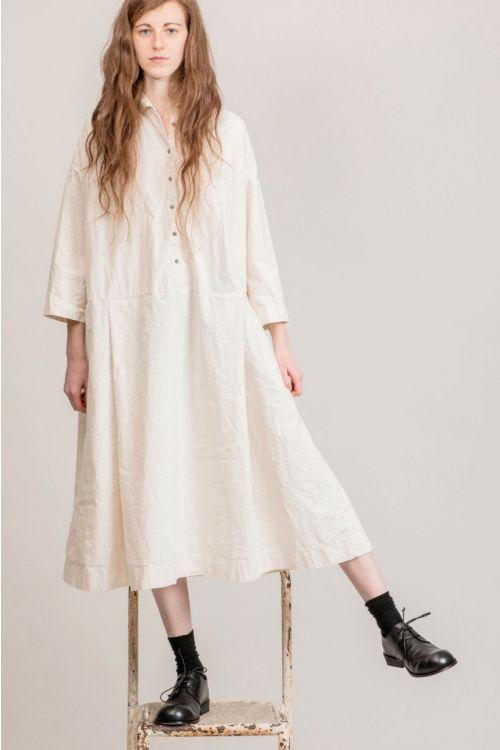 Japanese Cotton Dress Natural by Album di Famiglia