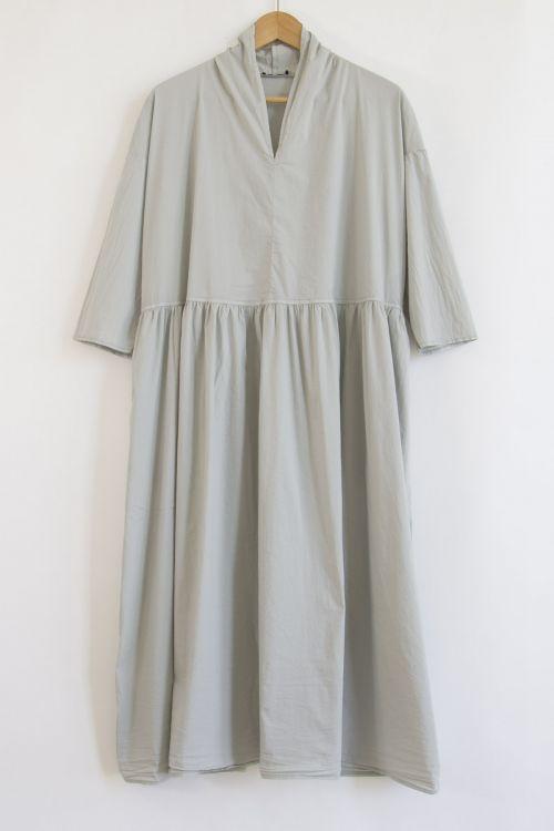 Long Kimono Dress Grey by Album di Famiglia-XS