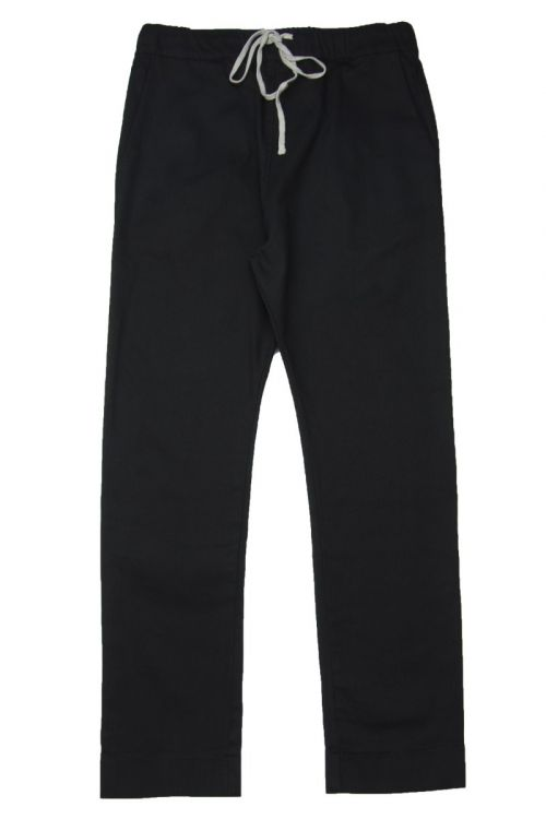 Gabardine Stretch Basic Trousers by Album di Famiglia-XS