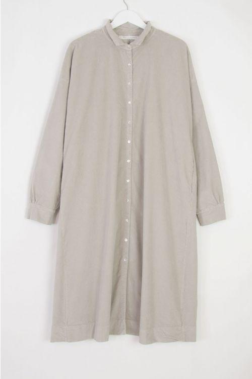 Velvet Collar Dress Coat Cappuccino by Album di Famiglia