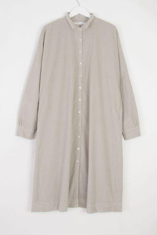 Velvet Collar Dress Coat Cappuccino by Album di Famiglia-S/M