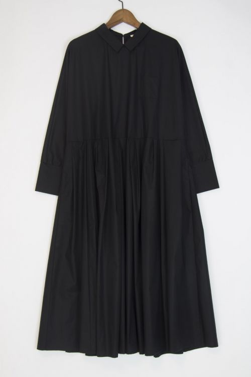 Cotton Dress Black by ApuntoB