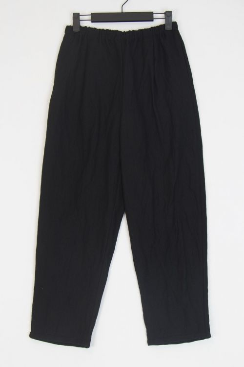 Wide Trousers Black by ApuntoB