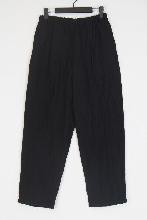 Wide Trousers Black by ApuntoB-XS
