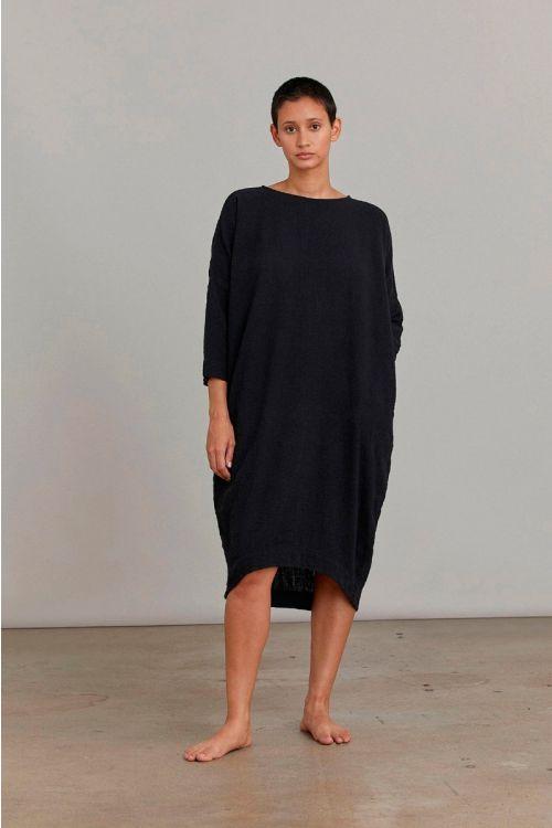 Bud Dress Black by Black Crane