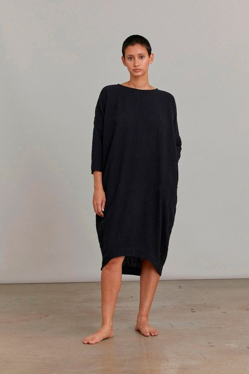 Bud Dress Black by Black Crane-XS