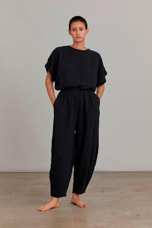 Easy Jumpsuit Black by Black Crane-XS