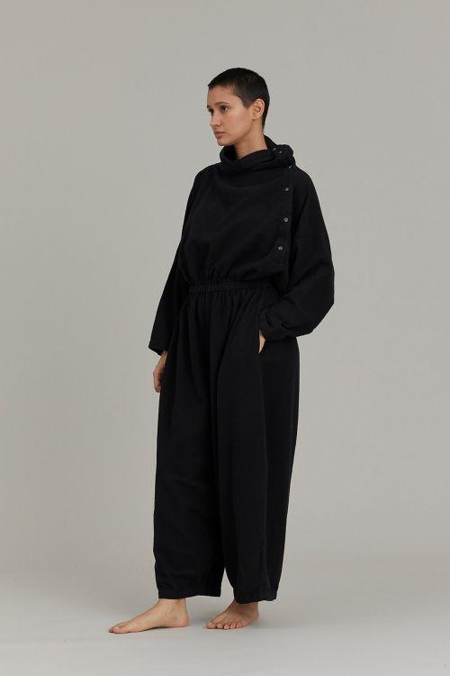 Tube Jumpsuit Black by Black Crane-XS