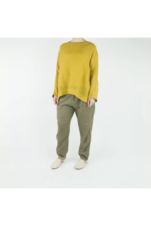 Cotton and Silk Trousers by Pero