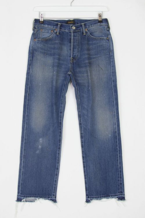 Jeans Used Ankle Cut Vintage Medium by Chimala