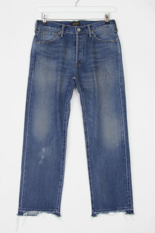 Jeans Used Ankle Cut Vintage Medium by Chimala-S