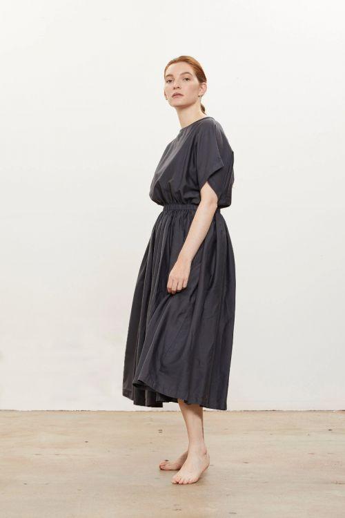 Pleated Dress by Black Crane