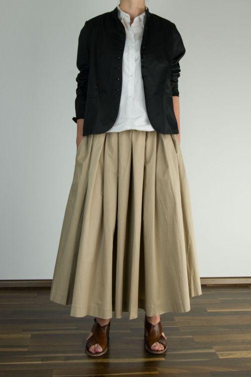 Cotton and Silk Jacket Janne by Ecole de Curiosites