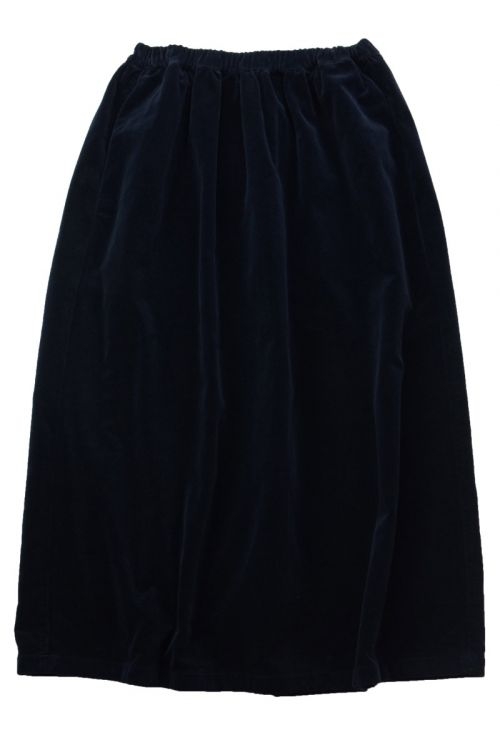 Velvet Skirt Duca by Manuelle Guibal