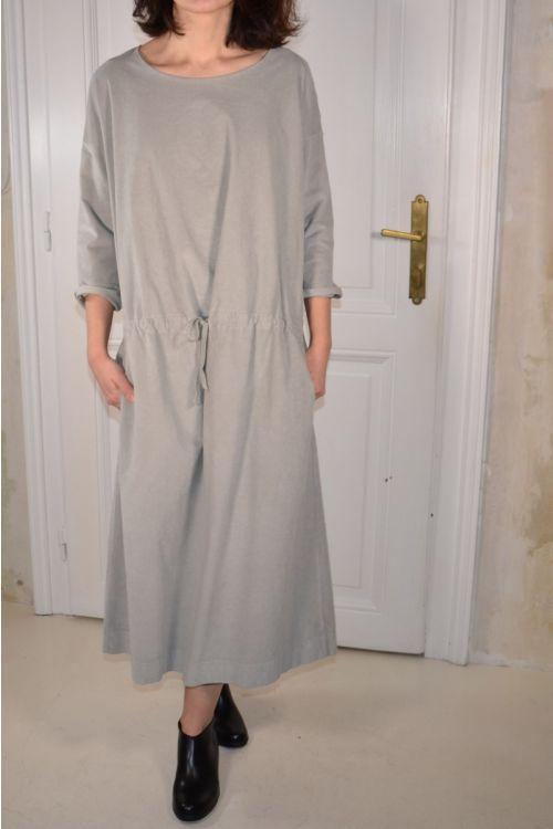 Corduroy Dress Oatmeal by Album di Famiglia