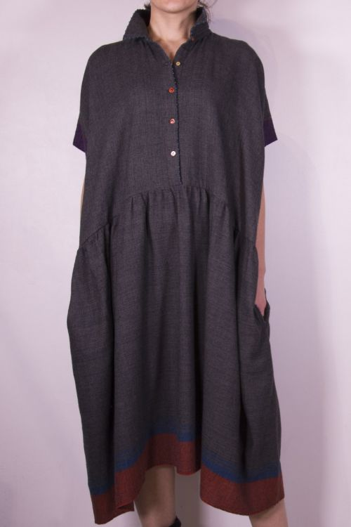 Wool Collar Dress by Pero