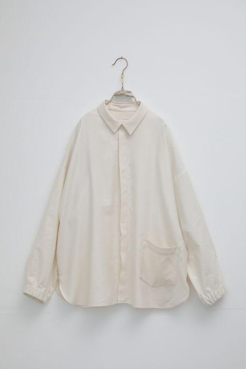 Silk and Cotton Shirt Sam Ivory by Ecole de Curiosites-S