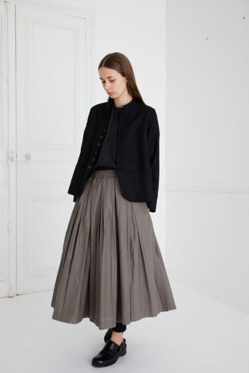 Skirt Solange Smoke Taupe by Ecole de Curiosites