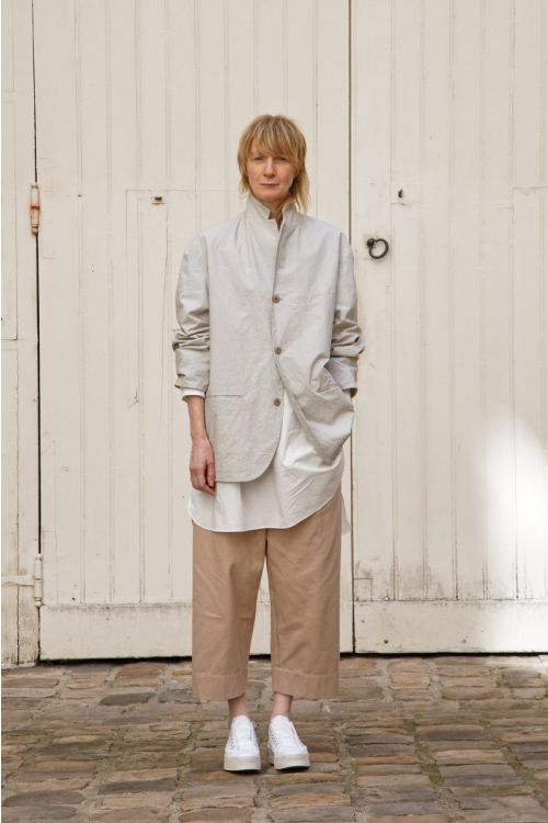 Jacket Edouard Light Grey by Ecole de Curiosites