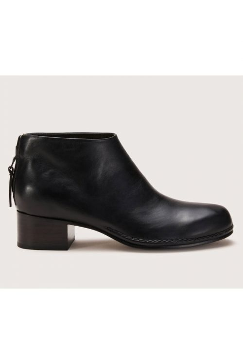 Ceremonial Mid Heel Leather Boot by Feit-36EU