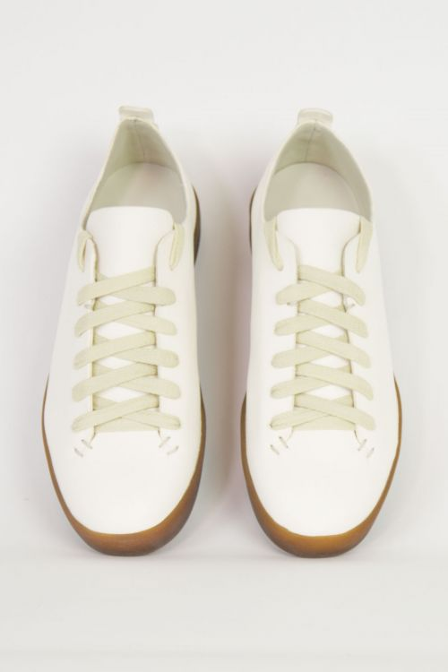 Latex Low Leather White by Feit-36EU