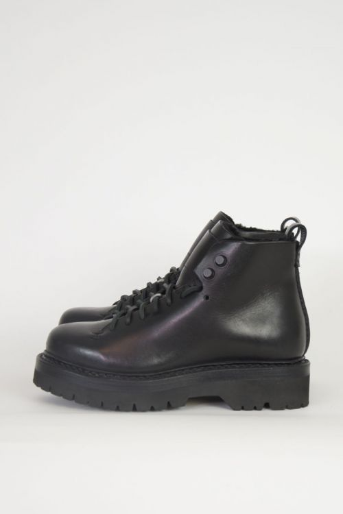 Wool Hiker Boots Black by Feit