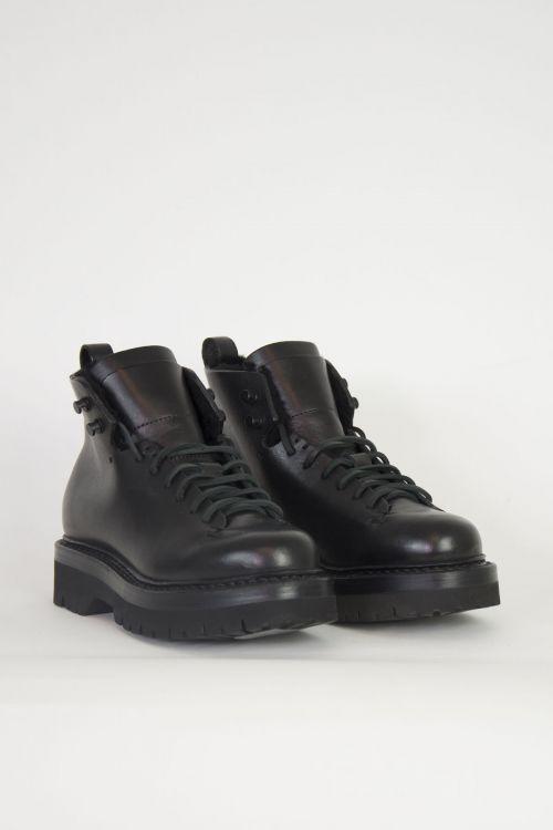 Wool Hiker Boots Black by Feit-36EU