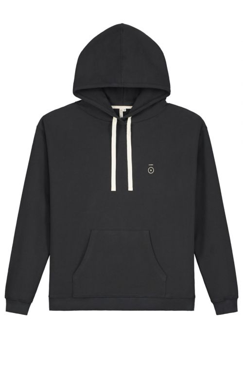 Hoodie Nearly Black by Gray Label