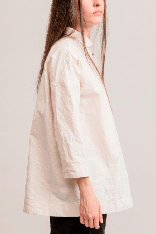 Japanese Cotton Shirt Natural by Album di Famiglia-TU
