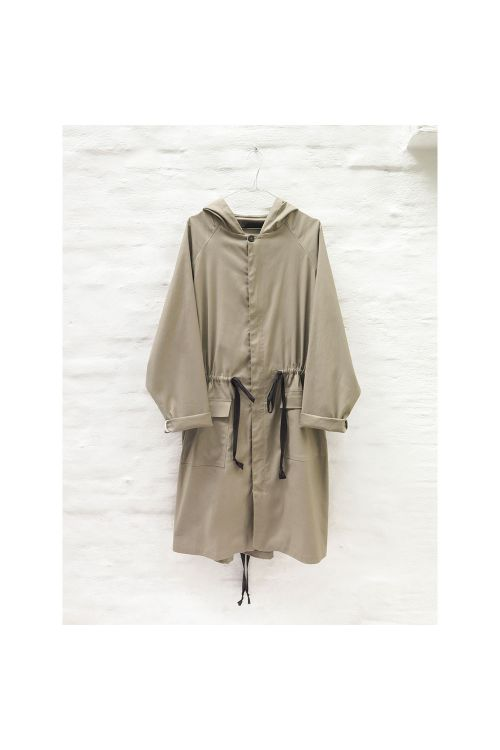 Hooded Parka Coat Jaron Amber-S