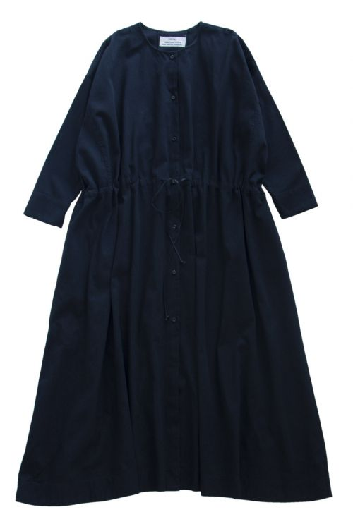 Cotton Dress Black by Kaval