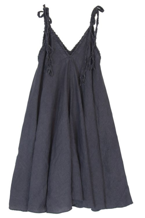 Woven Strings Dress Salopette Grey by Kaval
