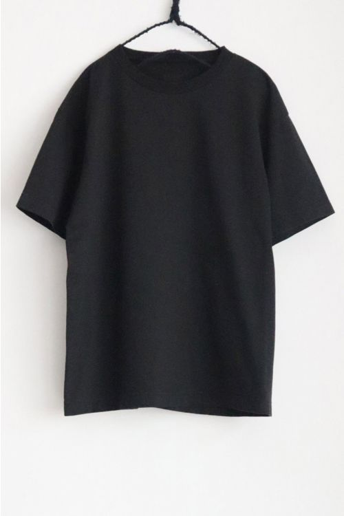 Heavy Cotton Big T-Shirt Black by Toujours