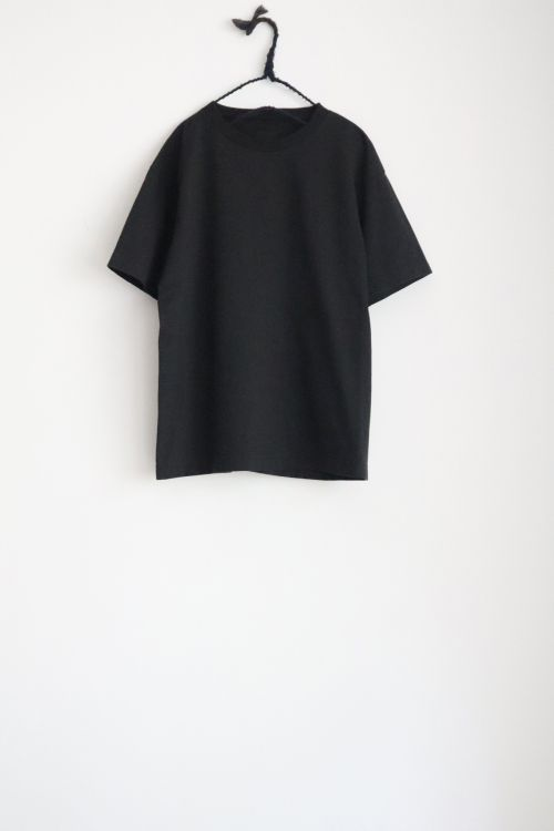 Heavy Cotton Big T-Shirt Black by Toujours-TU