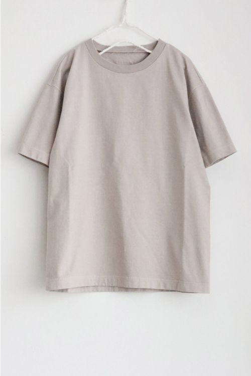 Heavy Cotton Big T-Shirt Sand by Toujours