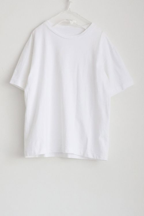 Heavy Cotton Big T-Shirt White by Toujours
