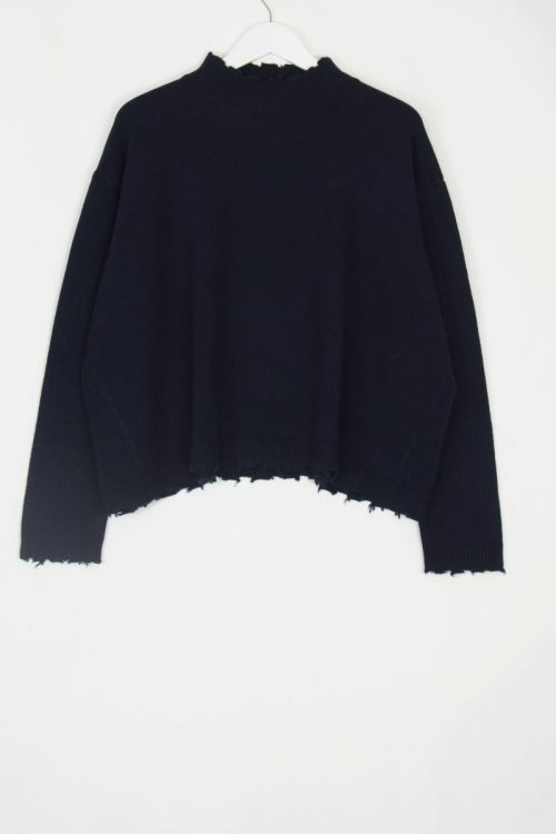 Cashmere Pullover Chemine Evening Light by Manuelle Guibal