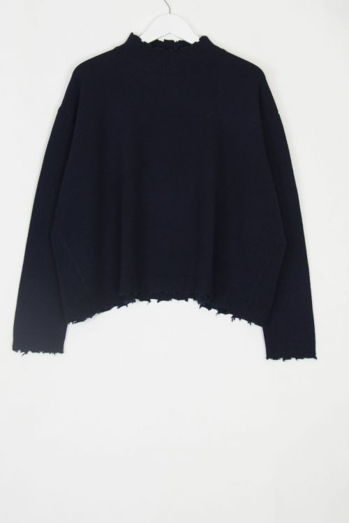 Cashmere Pullover Chemine Evening Light by Manuelle Guibal-S
