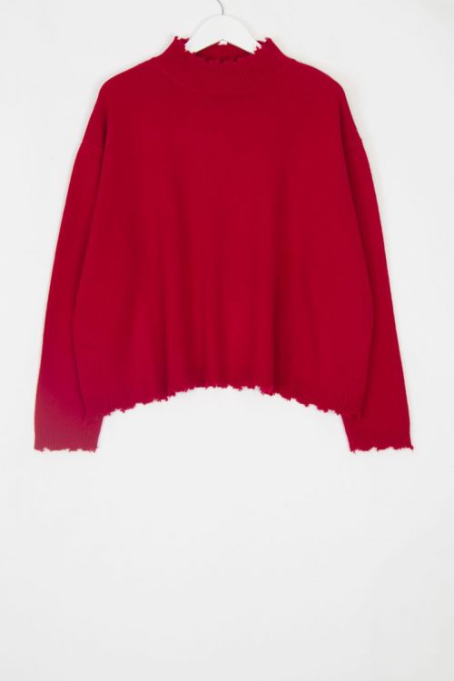 Cashmere Pullover Chemine Love by Manuelle Guibal
