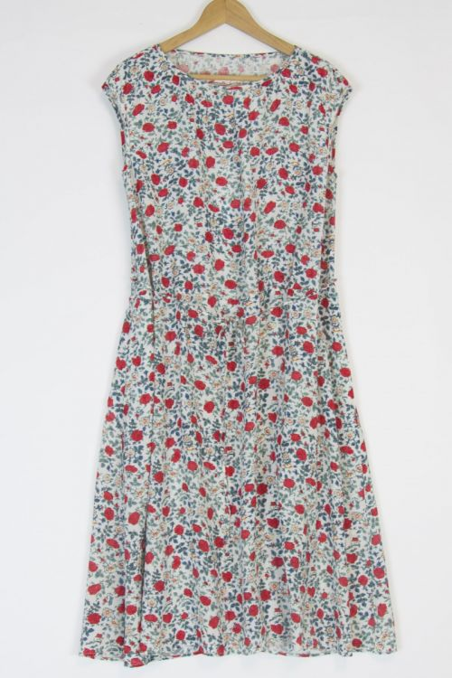 Dress Ati Flower Print by Manuelle Guibal