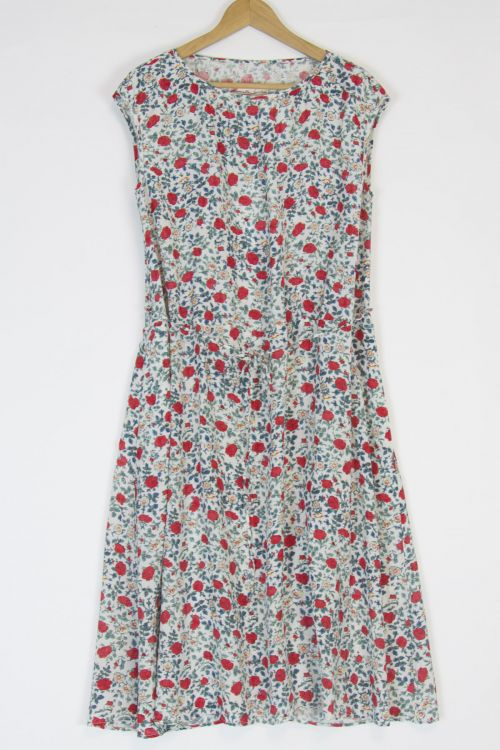 Dress Ati Flower Print by Manuelle Guibal-XS