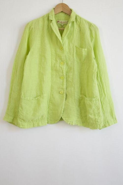 Light Jacket Ima Lime by Manuelle Guibal