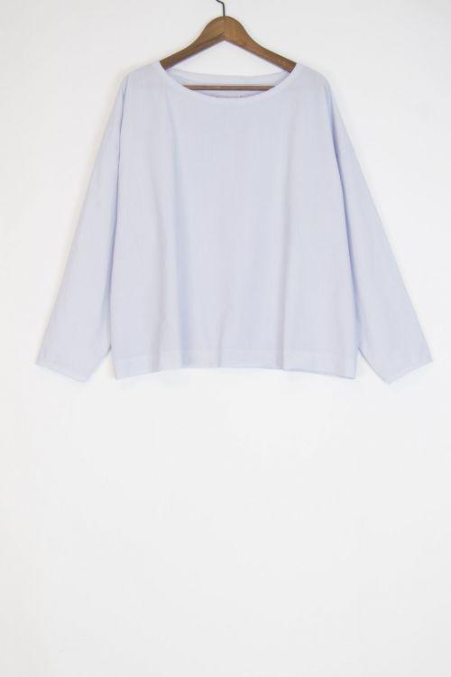 Oversized Blouse Inji Sky by Manuelle Guibal