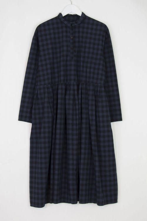 Shirt Dress Inji Evening Light Check by Manuelle Guibal