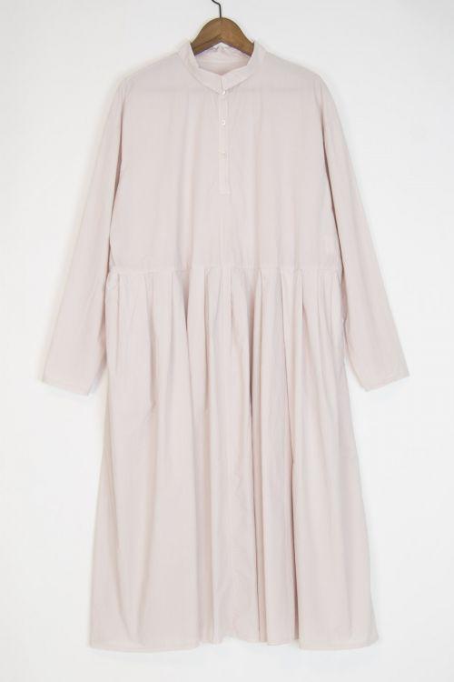 Shirt Dress Mao Inji Dirty Pink by Manuelle Guibal-S